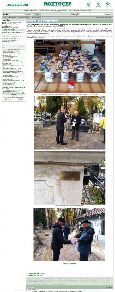 Kwesta 2011 trwa - zdjęcia