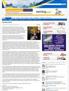 Gazeta Miasta, Kwesta 2012
