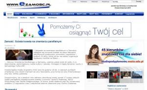 Zamość- Szósta kwesta na cmentarzu parafialnym / eZamość - regionalny portal informacyjny -